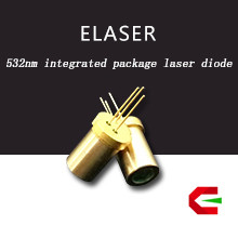 Civil electronics applied TO-5.6mm compact design 532nm green laser semiconductor
