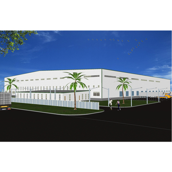 Steel structure warehouse prefabricated in Chinese factory