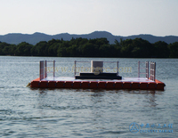 China suppliers the good quality plastic pontoon floating platform