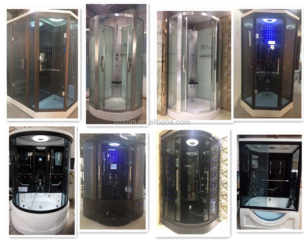 K-7030 Trade Assurance Guangzhou Canton Fair Enclosed massage whirlpool steam shower room