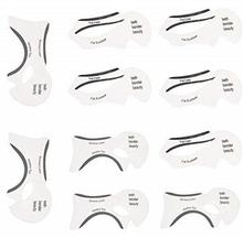 Clear Eyeliner Cards Eyebrow Shaper Makeup Stencils Beauty Shaping Tools Transparent Cat Eyeliner Stencil