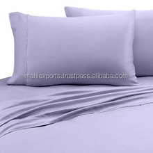 100% Cotton Solid Color Bed Sheet