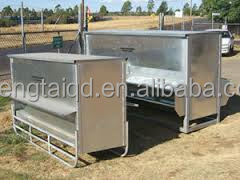 cheaper high quality goat/sheep pasture grain feeder equipment for wholesale