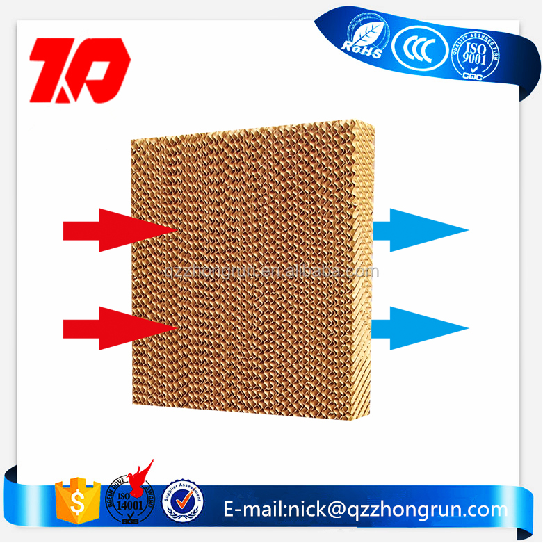 5090 evaporative corrugated cellulose cooling pad for air cooler