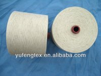 R/F Rayon/Flax raw white yarn