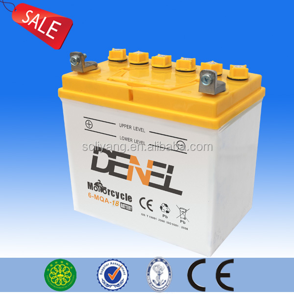 12N18-3A(12N18-4A) three wheel cargo battery High quality Motor Battery rechargeable motorcycle battery