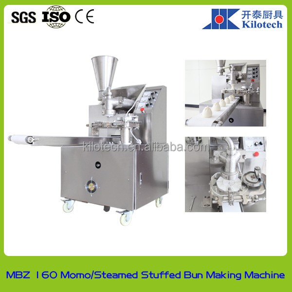 MBZ 160 Steamed bun with pork meat filling machine