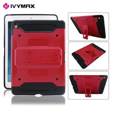 Shockproof Stand Hard Phone Cases for ipad air Rugged Impact Belt Clip Holster Cover Cases