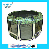 Factory foldable fabric pet playpen 8 panels folding dog pen