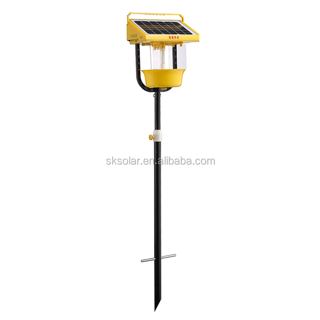 Solar Outdoor Insecticidal Lamp Zapper / Mosquito Killer/Dual Mode LED Garden Solar Insect Light Trap
