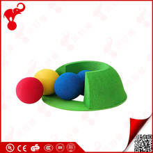china sporting factory cheap price eva rubber foam balls toy kids golf balls