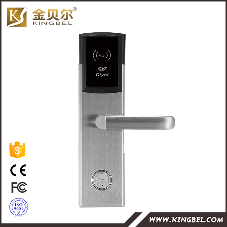 2016 Hot selling intelligent smart card remote control electric door lock in Indonesia