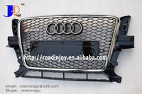 ABS CHROME RSQ5 GRILLE FRONT BUMPER GRILLE FOR AUDI Q5 CAR