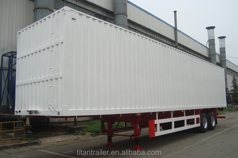 2 <strong>Axle</strong> 40T Dry Van Semi Trailer for sale | Titan Vehicle