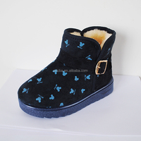 2016 Newest Anti-skid Casual Fabric Snow Boot For Kids