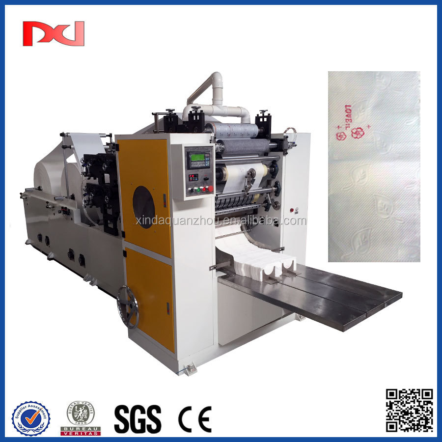 Automatic Facial Tissue Paper Printing Machine
