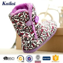 2015 Prevalent cheap and fine high elasticity vogue kids child snow boots