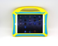 "Newest!! low cost shock proof kids 7"" tablet case/flip cover for ipad mini case"