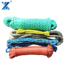 PP Polypropylene Packing Colored Braided Rope 6mm