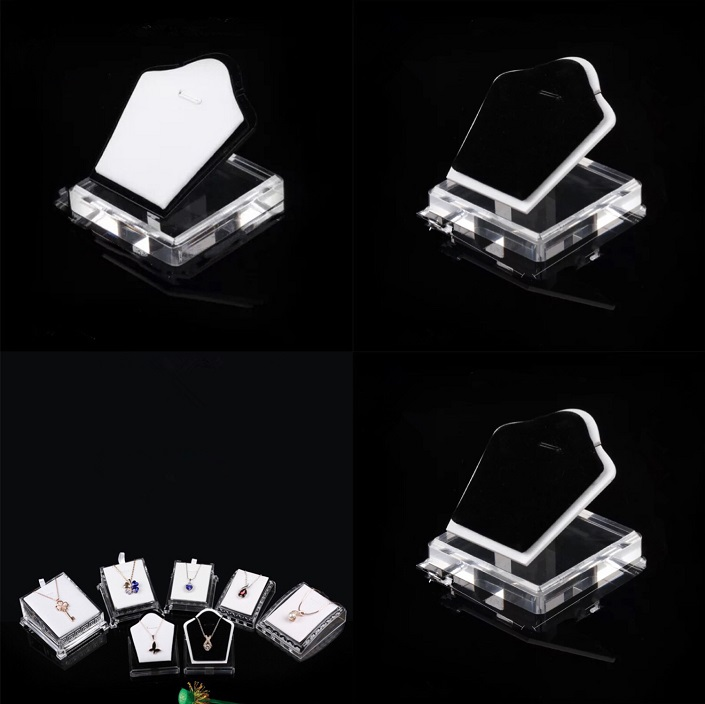 transparent acrylic jewelry display stand for jewelry store