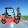 dual fuel engine conversion system gas power source forklift truck 3.5ton LPG/Petrol forklifts