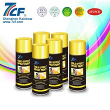 Mirror Effect Gold Paint Coating