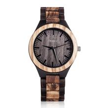 100% Natural Handmade Bamboo Watch Professional Brand Name Ladies Watch China Supplier Men Wooden Quartz Watch