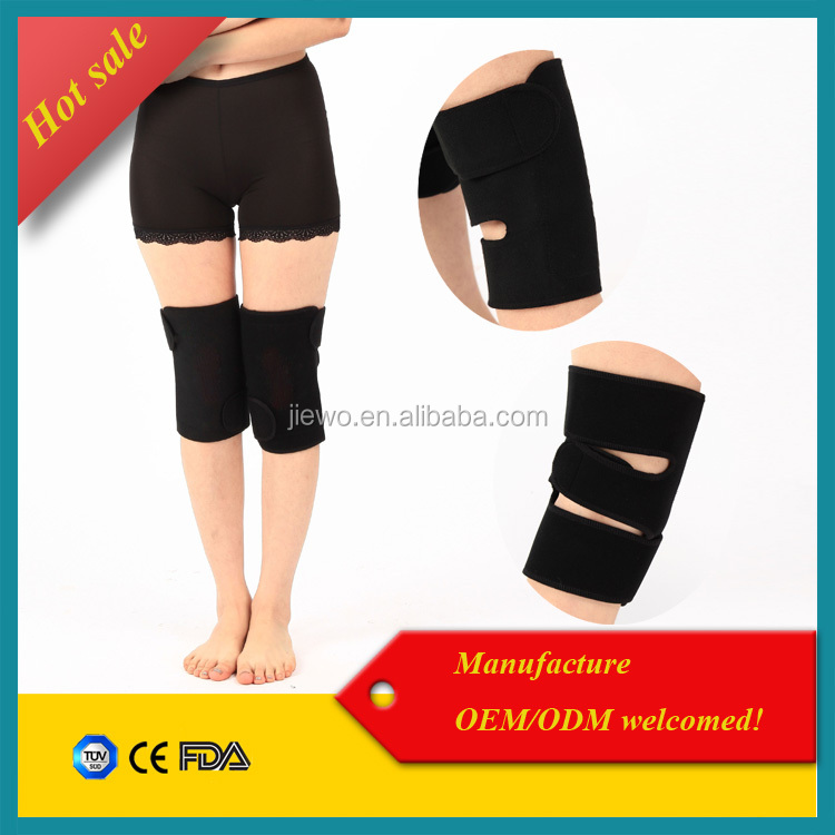 Cold knee pain relief heating knee support / magnetic knee sleeve