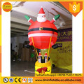 lighted inflatable santa for christmas decor C-414