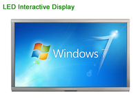 Prepositive interface LED TV interactive whiteboard, 55 inch led multi touch screen smart tv