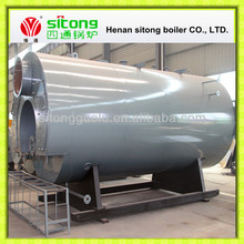 Oil and gas fired boiler steam press machine