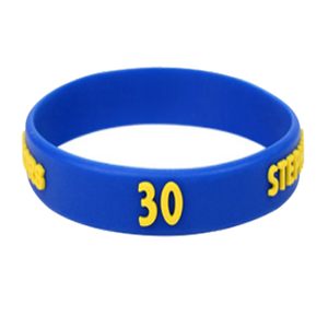 Environment Friendly silicone rubber epoxy decoration custom silicon bracelet wristband