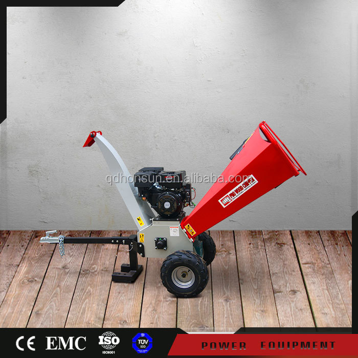 Hot sale CE EPA certificate Kohler Loncin gas engine best price home wood chippers for sale