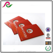 New product A4 business folder with 4 page brochure inners