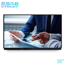 China manufacturer 55 inch touch screen whiteboard infrared portable interactive whiteboard for conference