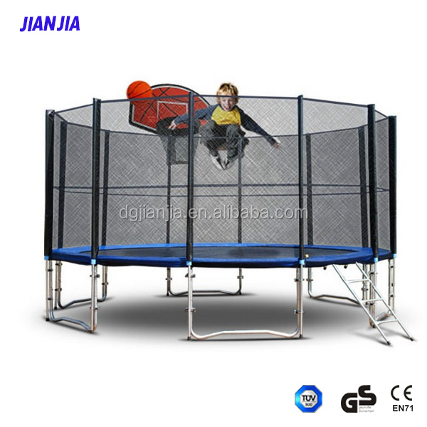 The hotest trampoline with CE and GS