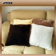 Lifestyle Short Wool Faux fur skin Lamb Cushion Covers