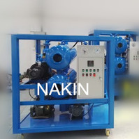 Double stages high vacuum transformer oil purification machine