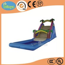 New hot fashion high quality kids inflatable water slider