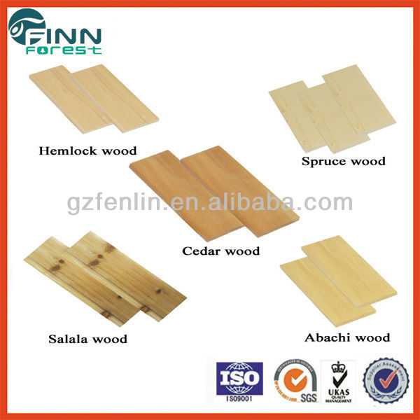 Factory Supply Solid Sauna Wood Boards