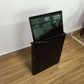 Motorized flip Up LCD Monitor Lift with Widescreen for Conference Table