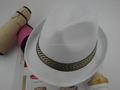 China good supplier hot sell polyester fedora felt hat