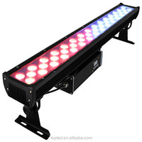 Professional led city color light 152W LED wall washer RGB 3-in-1 led flood light IP66