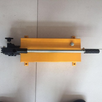 70MPa 2 speed hydraulic hand oil pump for sale