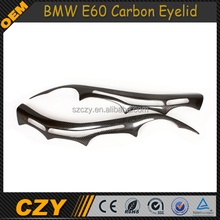 E60 Car Carbon Accessories Car Eyelid Eyebrow For BMW E60