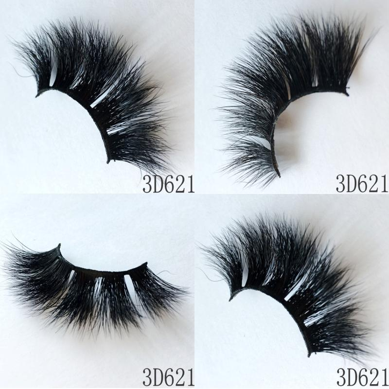 Mink Lashes made in Qingdao with Factory price 3D mink fur eyelash