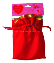 Global Decorative Drawstring Custom-made Faux Suede Gift Bags
