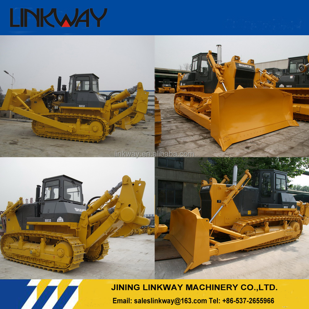 Heavy Construction Machinery For Sale Shantui Crawler Dozer SD32 320hp Bulldozer
