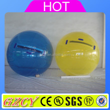 Inflatable human sized hamster ball water rolloer ball for sale