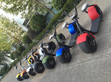 18*9.5 car tyre seev citycoco harley style scrooser 800w brushless lithium battery electric 2 seat mobility scooter for adults